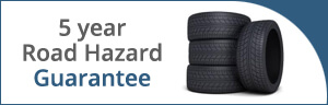 5 Year Road Hazard Guarantee