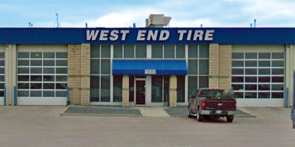 Contact West End Tire today